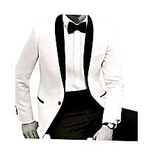 Men Tuxedos. Men Suit, Black and White, Size 48/32