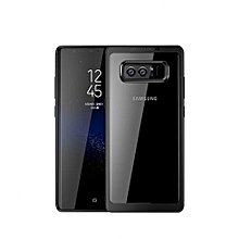 Samsung Galaxy Note 8 Ultra Slim Shockproof Bumper Cover with Crystal Clear Back Protective Case