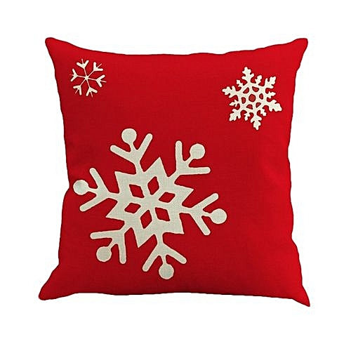 Buy Generic Christmas Home Cushion Cover Linen Home Car Decorative Custom Where To Buy Decorative Pillows
