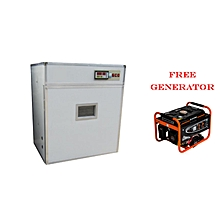 High Efficient Fully Automatic 440 Chicken Egg incubator,99% Hatch Rate+Free Generator