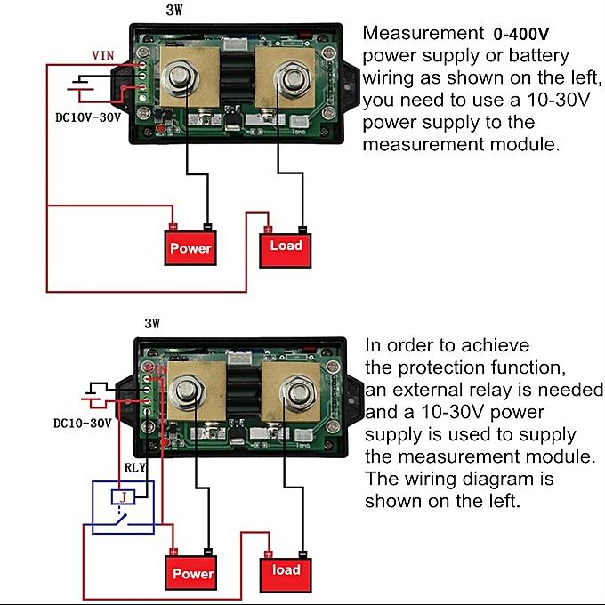 usa Other Sensors 100a Dc12v Current Detection Sensor Overcurrent Circuit Protection Sensor Jade White