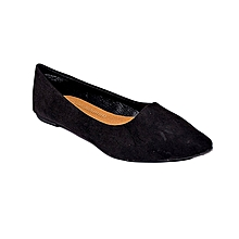 Black Pointed Doll Shoes