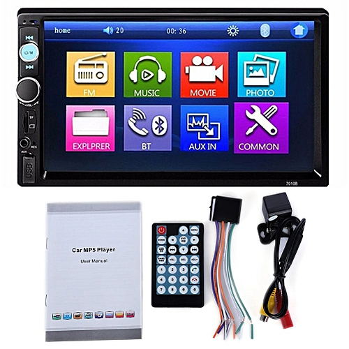 Generic 7010b 2 Din Car Video Player Dvd 7 Inch Lcd Touch Screen