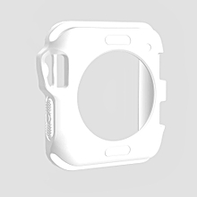 TPU Protective Case for Apple Watch Series 3 & 2 & 1 42mm(White)