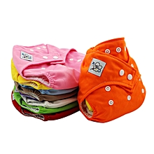 Reusable Washable Adjustable Baby Soft Diaper Nappy Toddler Dry Tender Care-Random - Random