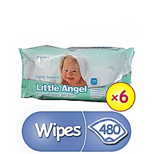Little Angels Baby Wipes - 6 Packs