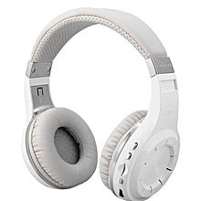 H+Turbine - Bluetooth Headphone TF Card Slot Volume Control - White