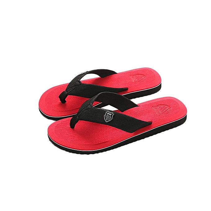 1c3b4a332fd Men's Summer Flip-flops Slippers Beach Sandals Indoor&Outdoor Casual Shoes