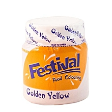 Food Colour Gold Yellow10g