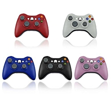 5 Colors Wireless Bluetooth Control Joystick Gamepad USB Charge For XBOX 360-White
