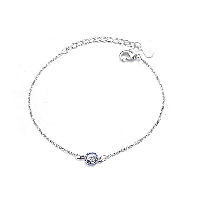 Retro Turkish Blue Devil s Eye Bracelet Eye Handwear Simple Jewelry Women 09269cb9a