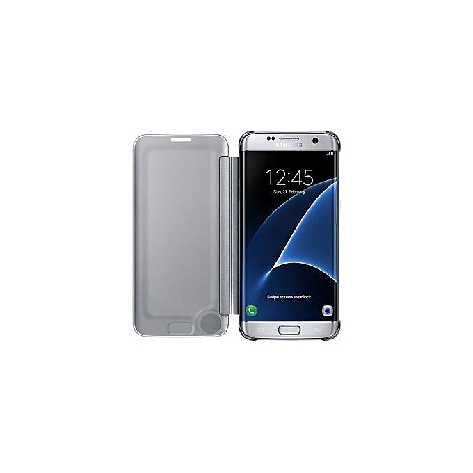 best Clear View Cover Samsung Galaxy S7 Edge image collection f419a53dd8ef
