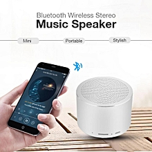 Portable Speaker Mini Bluetooth Speaker Wireless Mini Outdoor Stereo Music Player with LED