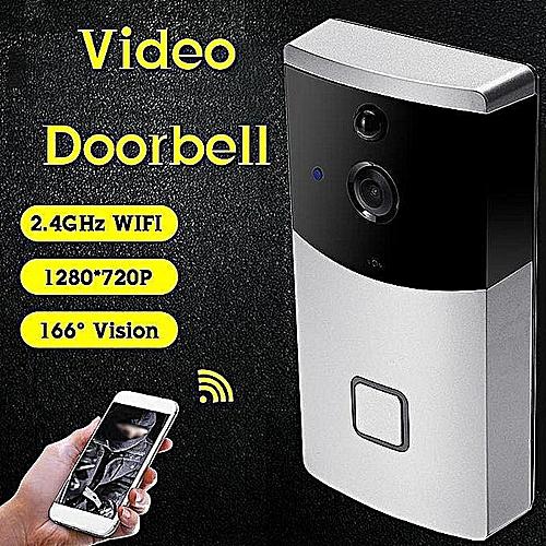 1280*720P Wifi Camera Hd Intelligent Video Door Bell Wireless Remote  Control Camera Household