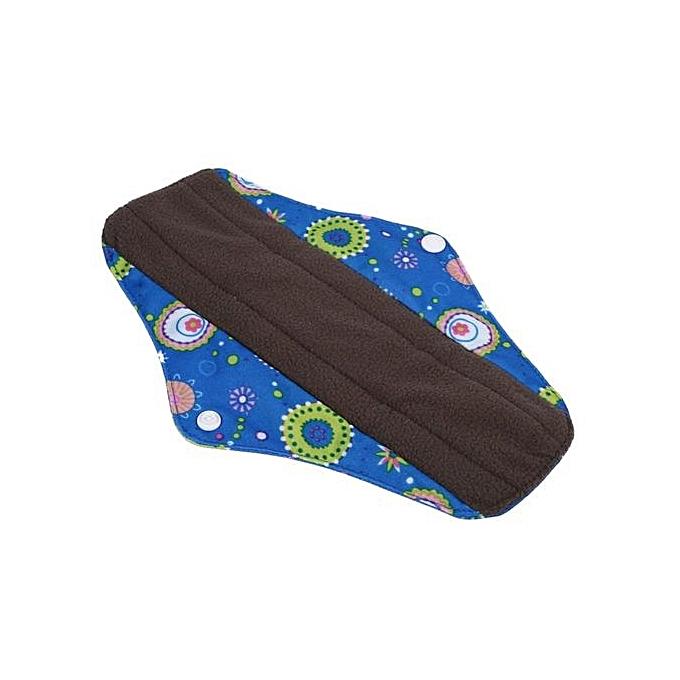 efd9111e45dc7 Reusable Washable Bamboo Charcoal Cloth Menstrual Sanitary Maternity Pads  Panty (#3)