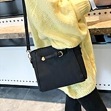 Hiamok Women's Fashion Leather Belts Handbag Crossbody Shoulder Bags BK