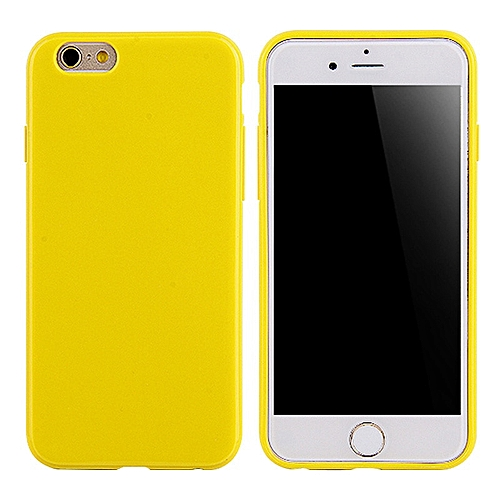 more photos af014 281fd for iphone 8 Plus case Luxury Soft Silicone Ultra Slim TPU smooth Cute  Candy Cover-Yellow
