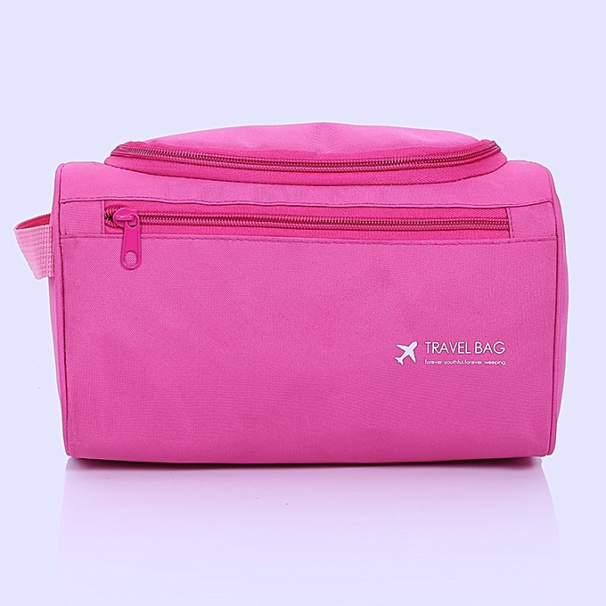 ce339a168b03 Woman Cosmetic Bags Organizer Makeup Bag Folding Travel Toiletry Bag Large  Capacity Waterproof Storage Beauty Bag-rose