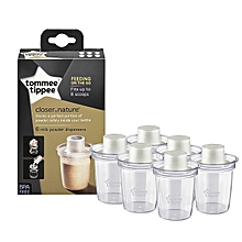 Closer to Nature Milk Powder Dispensers - Pack of 6