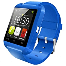 Smartwatch Bluetooth Watch Passometer Touch Screen Answer And Dial The Phone - Blue