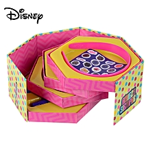 SOY LUNA Cute Cartoon Five Layers Jewelry Box, Stationery Case Kit With Pen Etc For Kids Children