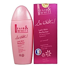 So white Lait Skin Perfector & Moisturizing Body Milk With White Up - - - (500ml)