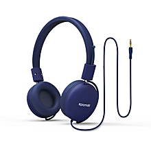 SOUL-Blue Over Ear Wired Headset