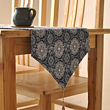 Ethnic Style Cotton Linen Tableware Mat Table Runner Heat Insulation Bowl Pad Tablecloth Desk Cover  30*220cm