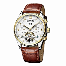 Business Watch Automatic Mechanical Men Watches 3ATM Water-resistant Wristwatch Male Relogio Musculino