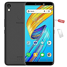 Spark 2 - 16GB, 2GB RAM, 13MP + 8MP Camera , Face ID ,FingerPrint (Dual SIM), Midnight Black + Free Protective Case
