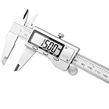 Digital 150mm Stainless Steel Caliper Vernier Gauge Electronic Micrometer Measuring Tool