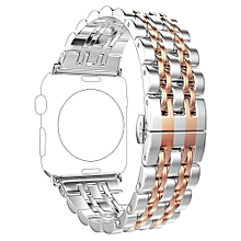 Stainless Steel Bracelet Smart Watch Band Strap For Apple Watch Series 4 44MM