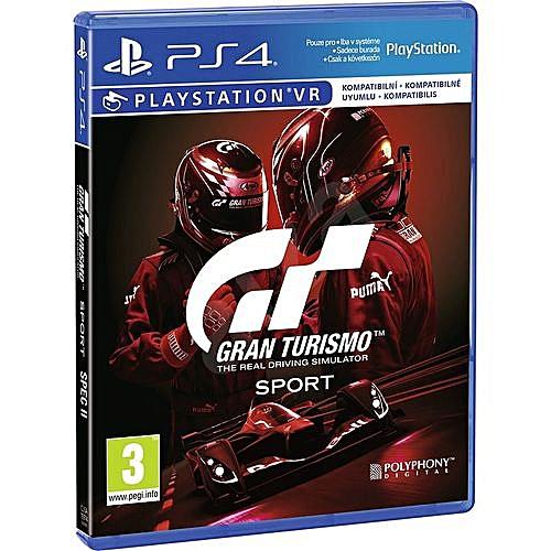 PS4 Gran Turismo Sport - The Real Driving Simulator