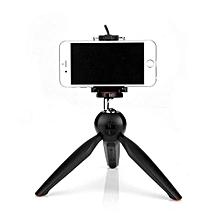 YT-228 Mini Tripod Mount + Phone Holder Clip Desktop Self-Tripod For Digital Camera And Smart Phones