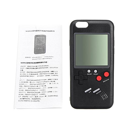 Generic Retro Tetris Nintendo Gameboy Blokus Console Case Cover for iPhone  X 8 Plus 7 6S (6 6S 4.7) 34b1a677c1