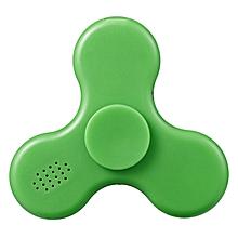 New Kids Children Game LED Bluetooth Speaker Hand Spinner Toys ABS Finger Toys-Green
