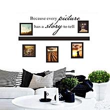 Wall Stickers Art Decals Mural Wallpaper Decor Home Room DIY Decoration-Black