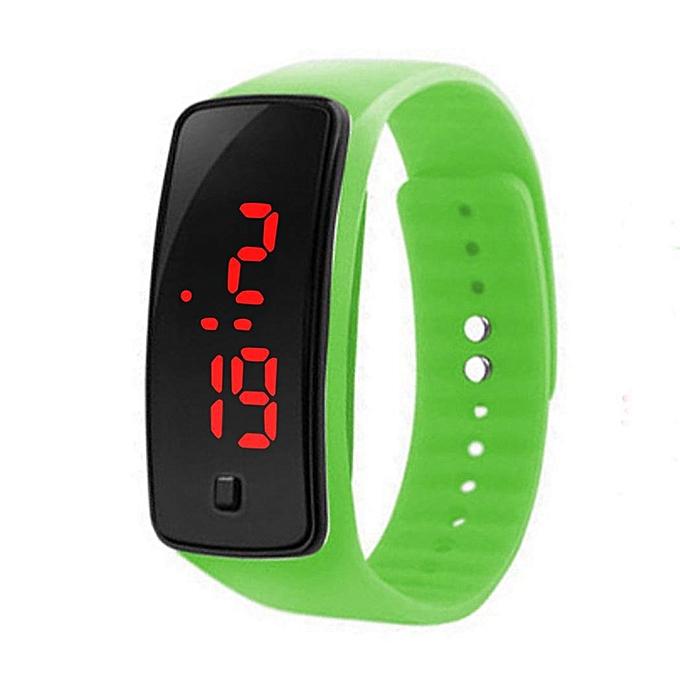 Children Led Watch Digital Silicone Sport Casual Bracelet