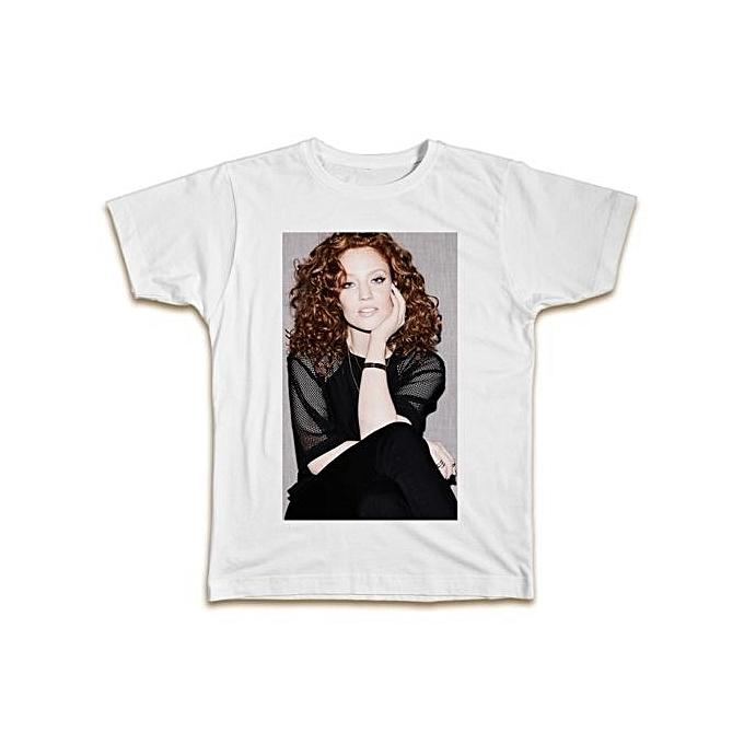 0f4ee23401 Custom T-shirt Popular T-shirt Jess Glynne T-Shirt Cool Designer Summer