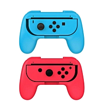 LEBAIQI 2pcs ABS Gamepad Grip Handle Stand Holder for Nintend Switch Left Right Joy-Con Joycon NS NX Game Controller (Blue?d)