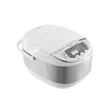 Digital Rice Cooker - White