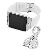 Smart Wrist Watch Mini Phone Camera For Android Phone Mate Fashion Elegant White