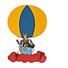 Clothes Hanger- Safari Balloon - Multicolor