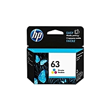 63 TRI COLOR  Ink Cartridge (F6U62AN)