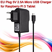 5V 2.5A Micro USB Charger Power Supply Adapter For Raspberry Pi 3 Tablet EU Plug