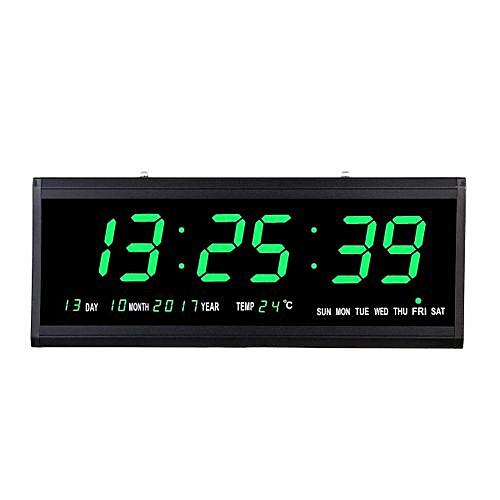 Buy Generic Large Digital Clock Jumbo Led Display Alarm Wall
