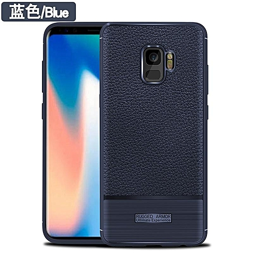 Generic For Samsung Galaxy S9 Case Luxury Litchi Pattern Soft