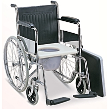 Foldable Commode Standard Wheelchair