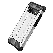 Galaxy S10+ Case,2 IN 1 Hybrid [Full Body] [Heavy Duty] Armor Case Dual Layer Shock Absorbing TPU for Samsung Galaxy S10+/Galaxy S10 Plus -Silver