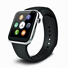 A9 Bluetooth Smartwatch For Iphone And Android Heart Rate Monitor Smart Watches IP67 Waterproof For Android IOS (siver)